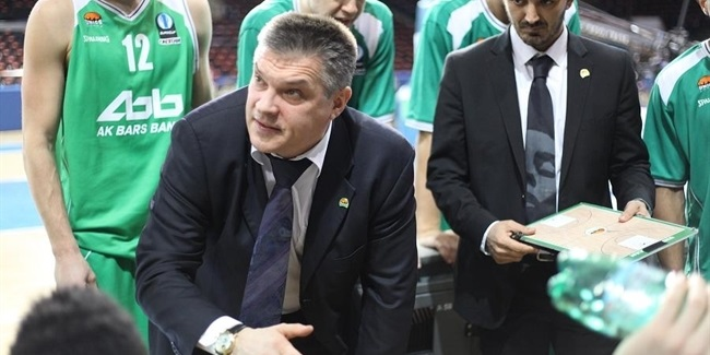 Unics, coach Pashutin to stay together two more years