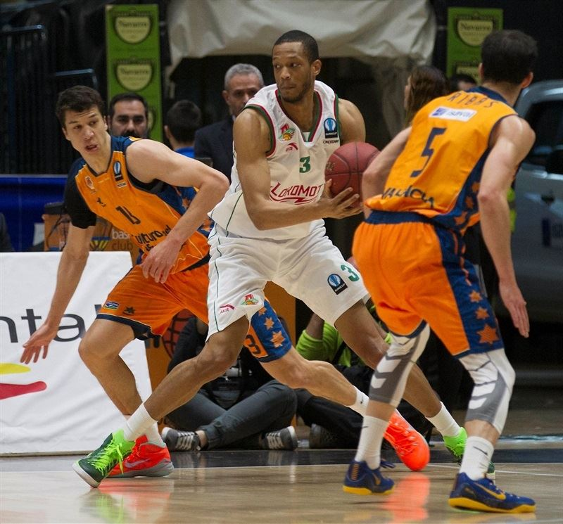 Anthony Randolph - Lokomotiv Kuban - EC14 (photo Valencia Basket - Miguel Angel Polo)