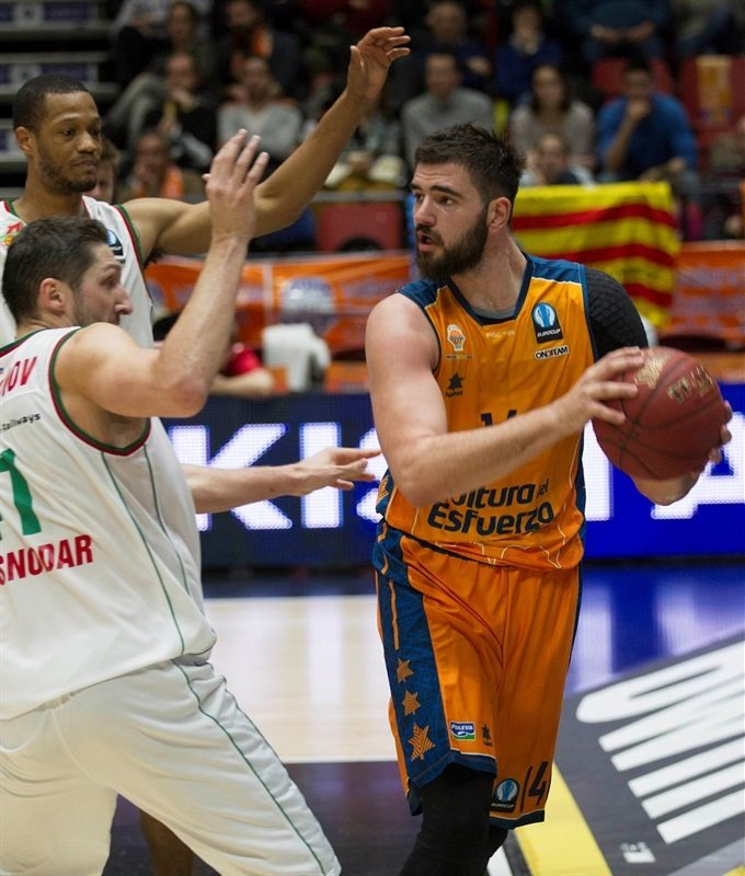 Bojan Dubljevic - Valencia Basket - EC14 (photo Valencia Basket - Miguel Angel Polo)