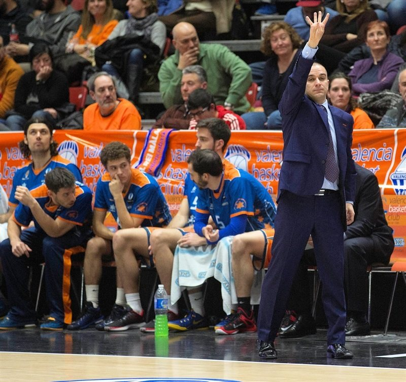 Carles Duran - Valencia Basket - EC14 (photo Valencia Basket - Miguel Angel Polo)