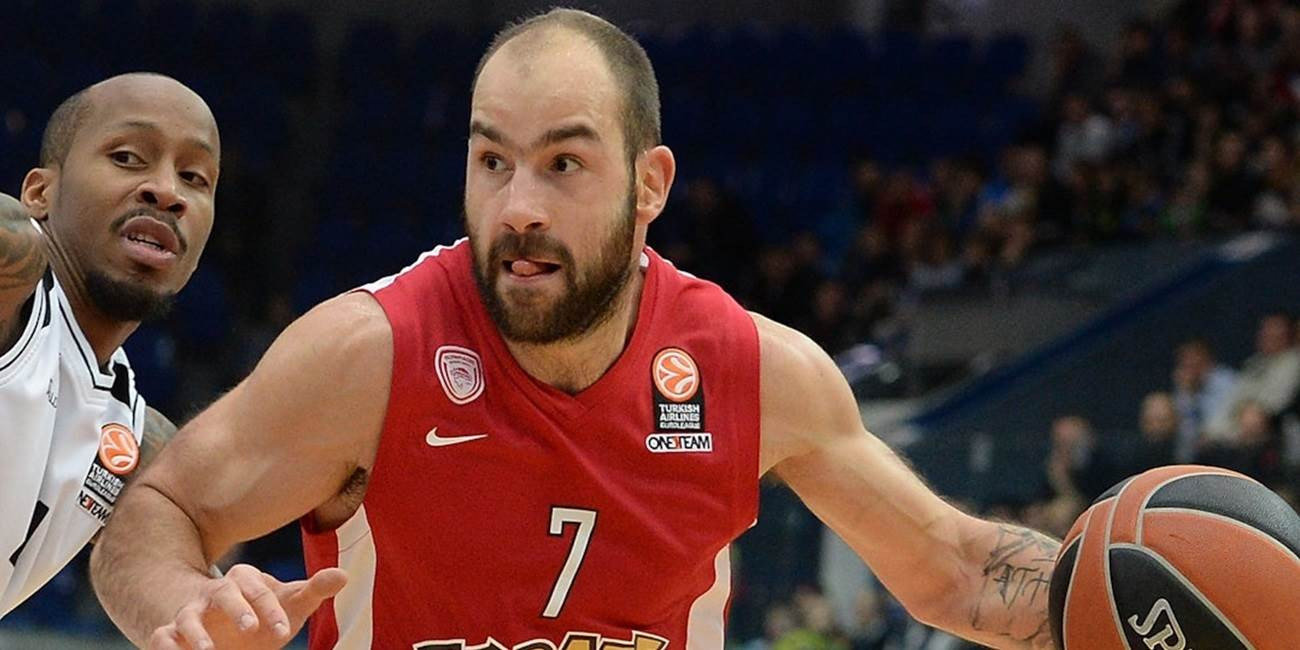 Top 16 Round 7 report:  Spanoulis's late heroics lead Olympiacos to road win