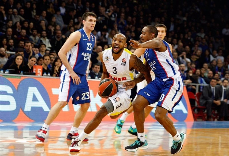 Ricky Hickman - Fenerbahce Ulker Istanbul - EB14