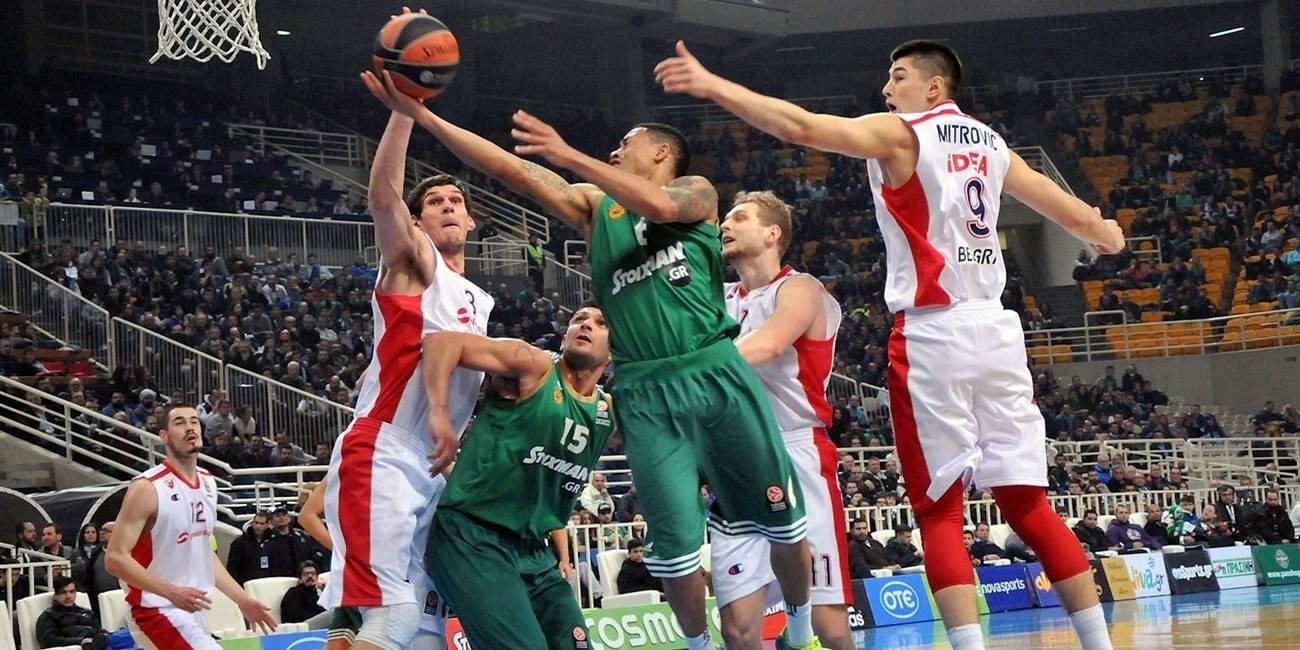 Top 16 Round 7 report: Panathinaikos holds off Zvezda at home