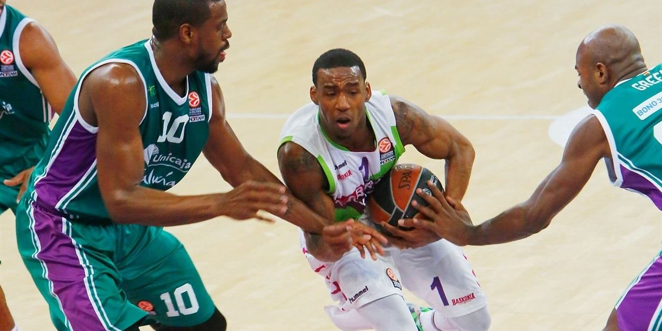 Top 16 Round 7 report: Laboral Kutxa, Adams hold off Unicaja