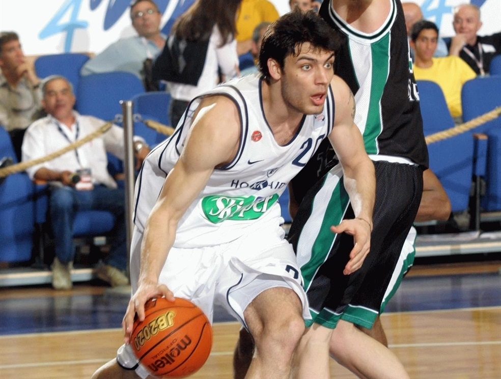 Carlos Delfino - Skipper Bologna - Final Four 2004 - EB03