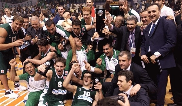 Bodiroga leads Panathinaikos to European crown!