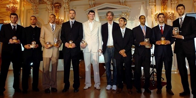 All-Euroleague team, MVP announced in Prague