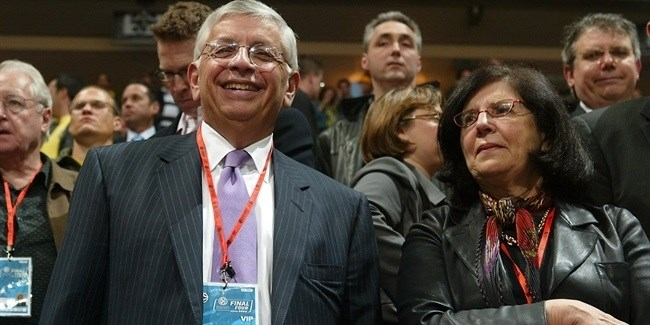 NBA commissioner David Stern in Prague: 'It's just terrific!'