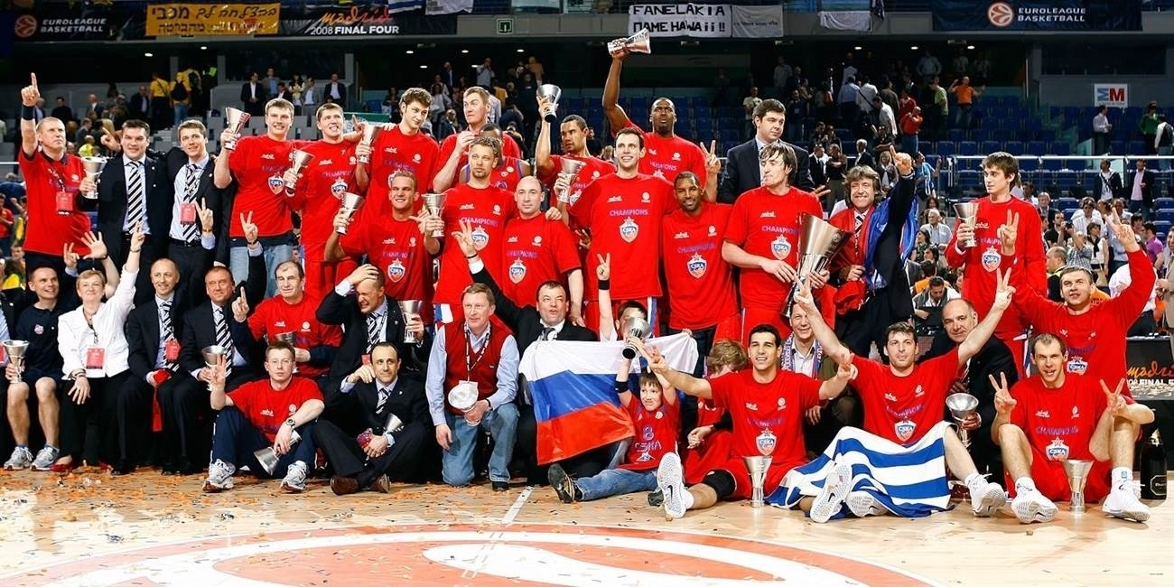 CSKA Moscow is champ again!