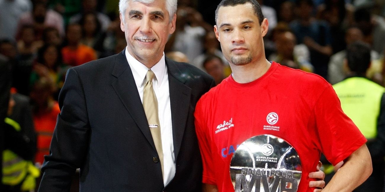 Euroleague Final MVP: Trajan Langdon, CSKA Moscow