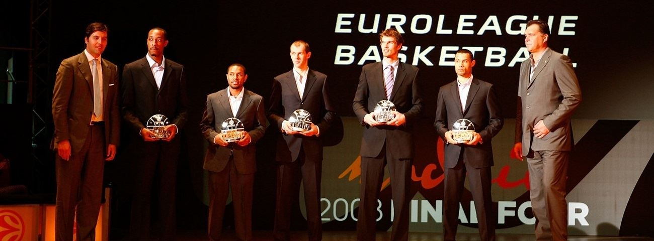 2007-08 All-Euroleague, MVP announced
