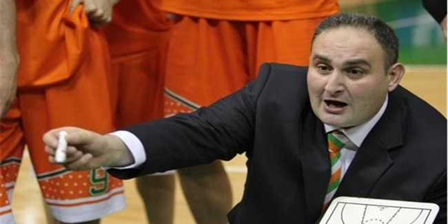 On bench, Banvit replaces Lukic with Ernak