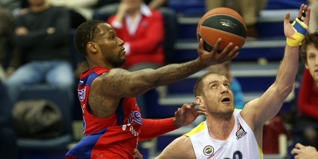 Top 16 Round 8, CSKA Moscow vs. Fenerbahce Ulker Istanbul