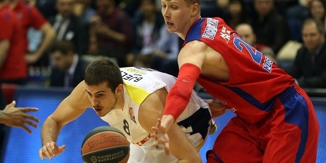 Top 16 Round 8 report: Fenerbahce Ulker hands CSKA first home loss