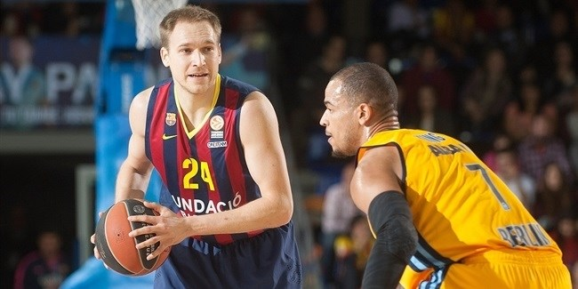 Top 16 Round 8, FC Barcelona vs. ALBA Berlin