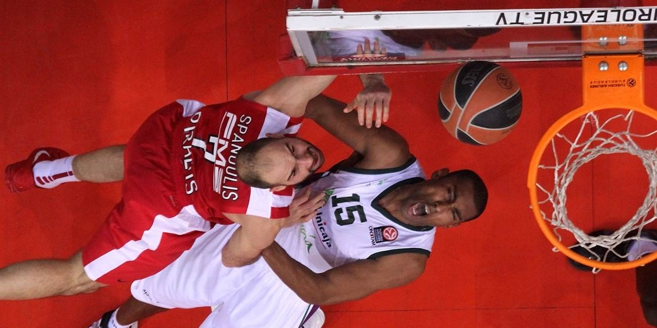 Top 16 Round 8 report: Olympiacos marks anniversary with comeback win for first place