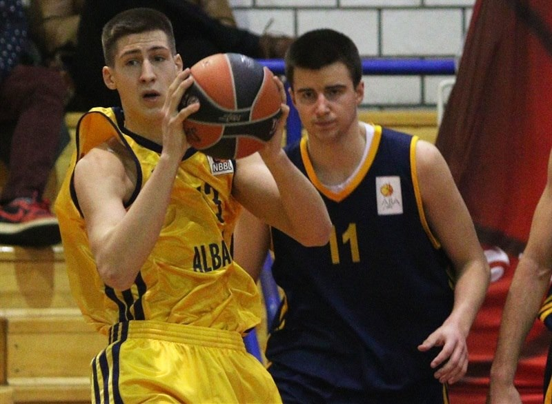 Aleksander Dimitrijevic - U18 ALBA Berlin - ANGT Belgrade 2015 - JT14  (photo Dragosla Zarkovic)