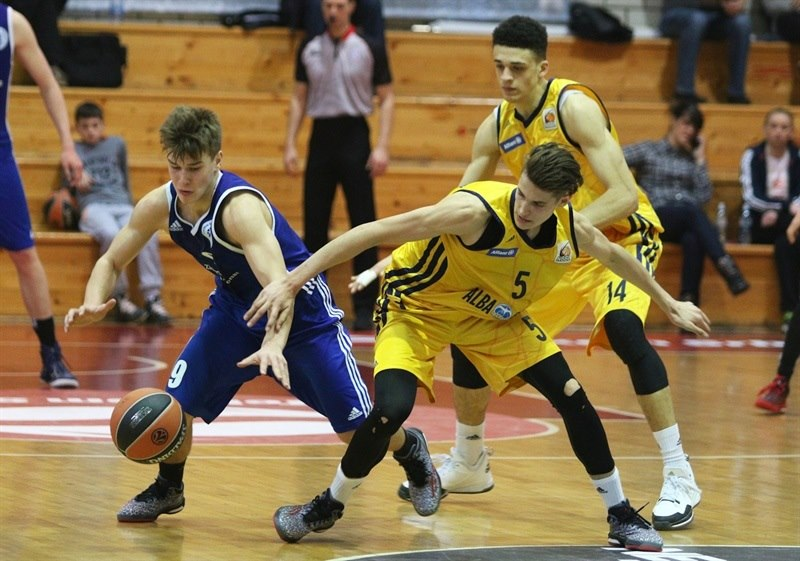 Lukas Wank - U18 ALBA Berlin - ANGT Belgrade 2015 - JT14  (photo Dragosla Zarkovic)