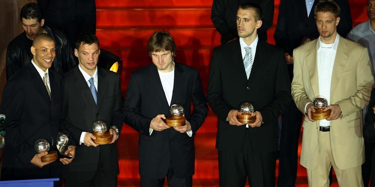 2004-05 All-Euroleague team, MVP announced