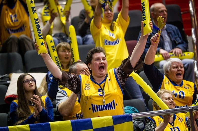 Fans - Khimki Moscow Region - EC14 (photo Zenit)