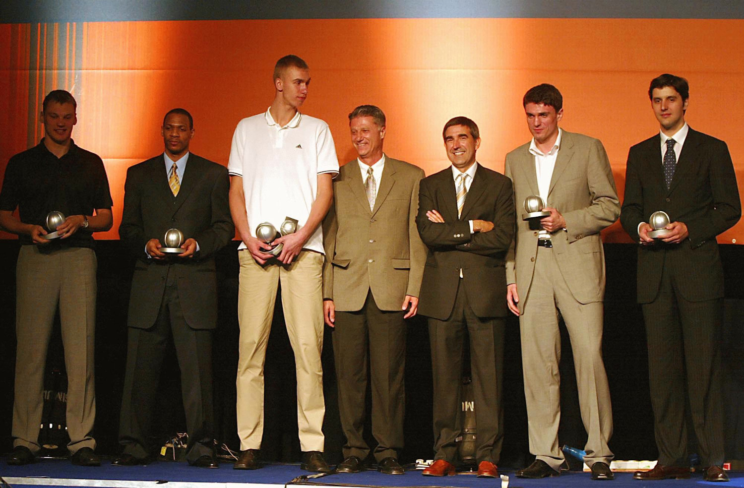 2003-04 All-Euroleague team - Final Four Tel Aviv 2004