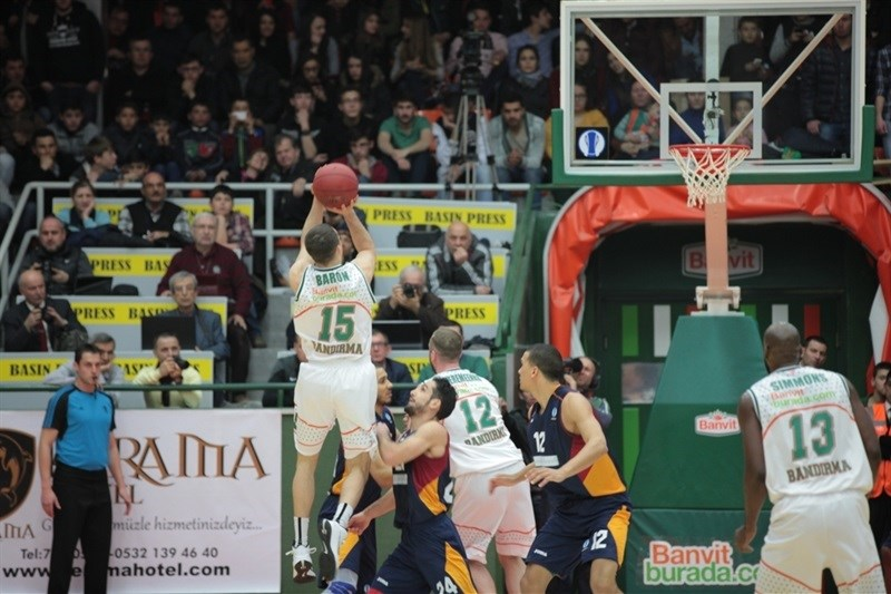 Jimmy Baron - Banvit Bandirma - EC14 (photo Banvit)