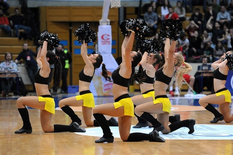 Cheerleaders - Cedevita Zagreb - EC14 (photo Cedevita)