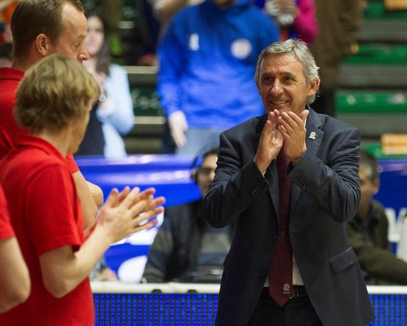 Svetislav Pesic - FC Bayern Munich - EC14 (photo Valencia Basket - Miguel Angel Polo)