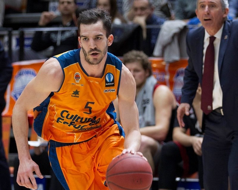 Pau Ribas - Valencia Basket - EC14 (photo Valencia Basket - Miguel Angel Polo)