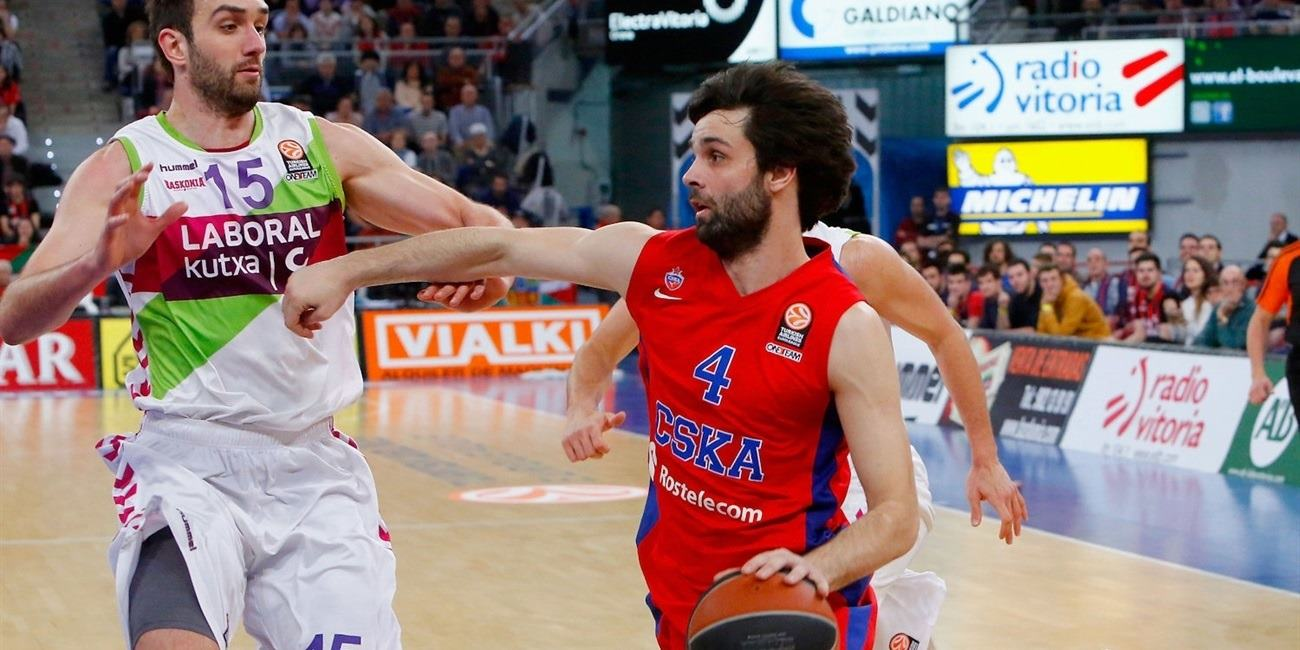 Top 16 Round 9 report: CSKA Moscow rallies for a road win in Vitoria