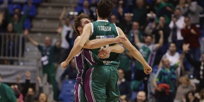 Top 16 Round 9 report: Toolson's last-second triple lifts Unicaja over Efes