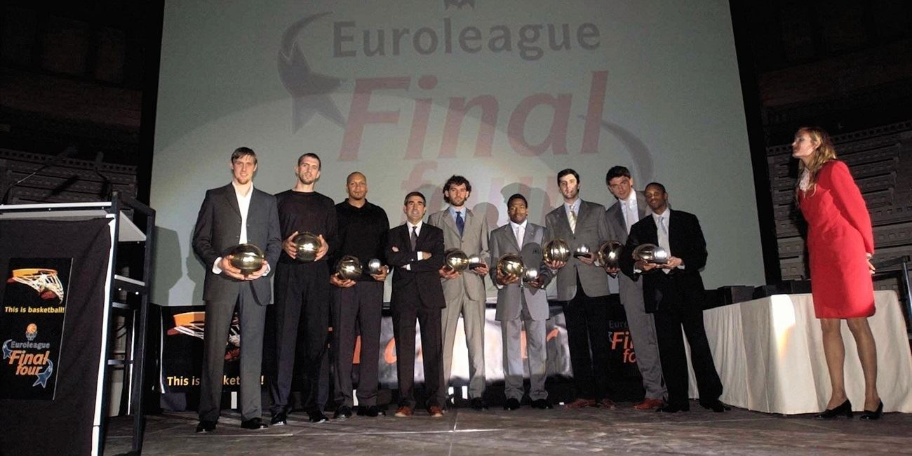 All-Euroleague team 2002-03