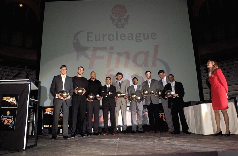All-Euroleague team 2003-04 - Final Four Barcelona 2003 - EB02