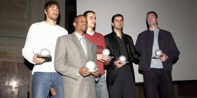2001-02 All-Euroleague Team