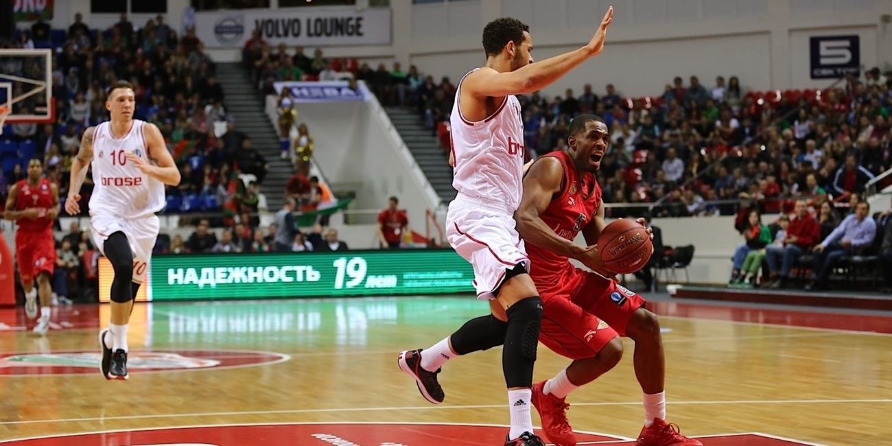 Eighthfinals Round 2 report: Lokomotiv Kuban 70-53 Brose Baskets Bamberg