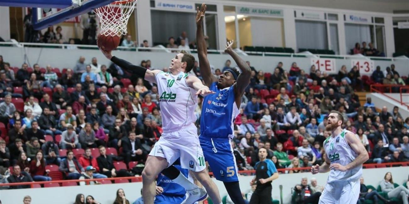 Eighthfinals Round 2 report: Unics Kazan 75-72 FoxTown Cantu