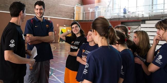 Alex Abrines and FC Barcelona move forward with One Team