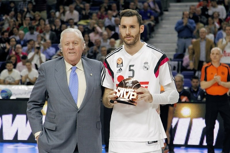 Rudy Fernandez, February MVP - Real Madrid - EB14