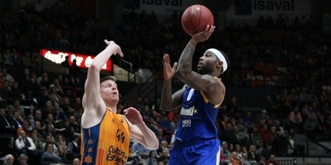 Quarterfinals, Game 1 co-MVP's: Tyrese Rice of Khimki and Krunoslav Simon of Lokomotiv