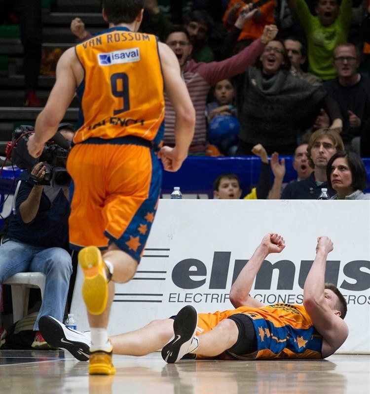 Luke Harangody - Valencia Basket - EC14 (photo Valencia Basket - Miguel Angel Polo)