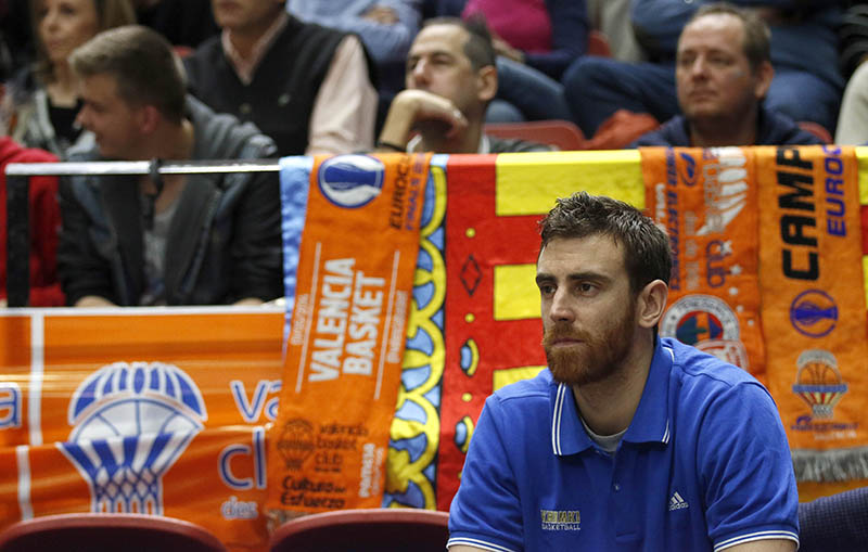 Victor Claver - Khimki Moscow Region - EC14 (photo Valencia Basket - Miguel Angel Polo)