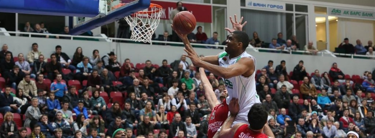 Quarterfinals, Game 2 MVP: James White, Unics Kazan