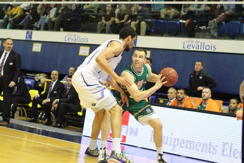 Jimmy Baron - Banvit Bandirma - EC14 (photo Paris Levallois)