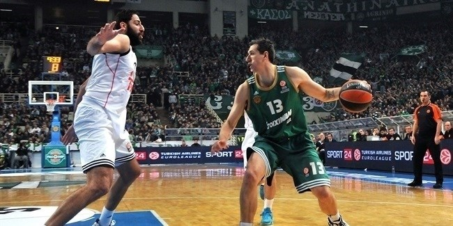 Top 16 Round 11, Panathinaikos Athens vs. Real Madrid