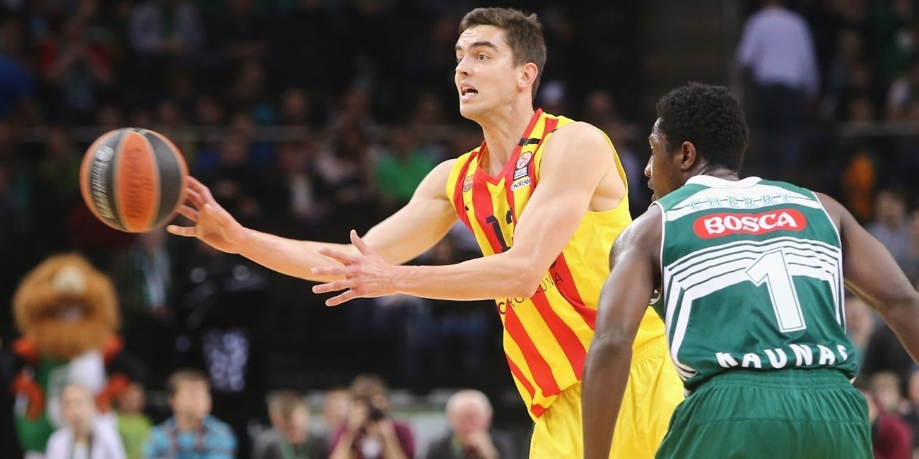 Top 16 Round 12 report: FC Barcelona bench leads 72-83 victory at Zalgiris