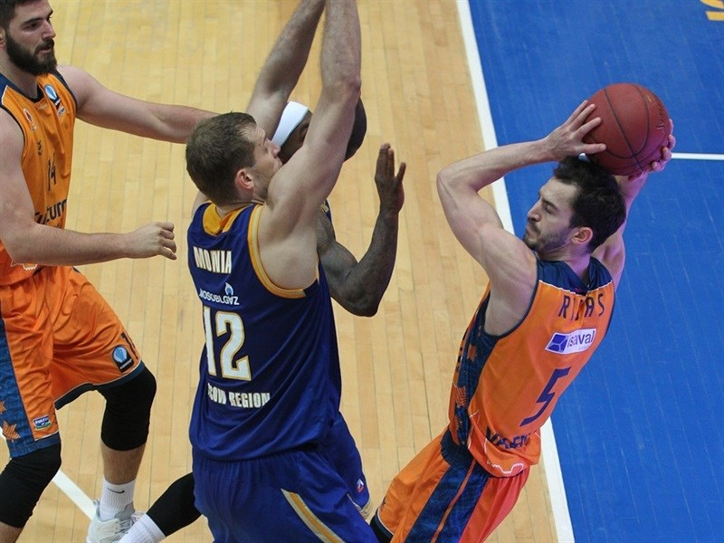 Pau Ribas - Valencia Basket - EC14 (photo Khimki - Nikolay Kondakov)