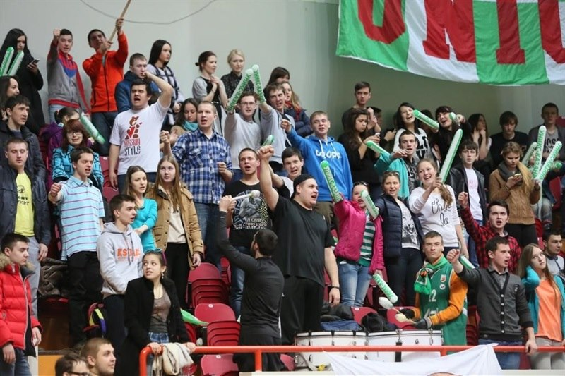 Fans - Unics Kazan - EC14 (photo Unics - Nurislam Ismagilov)