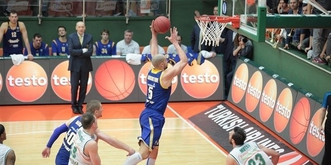 Star Turn: James Augustine, Khimki Moscow Region