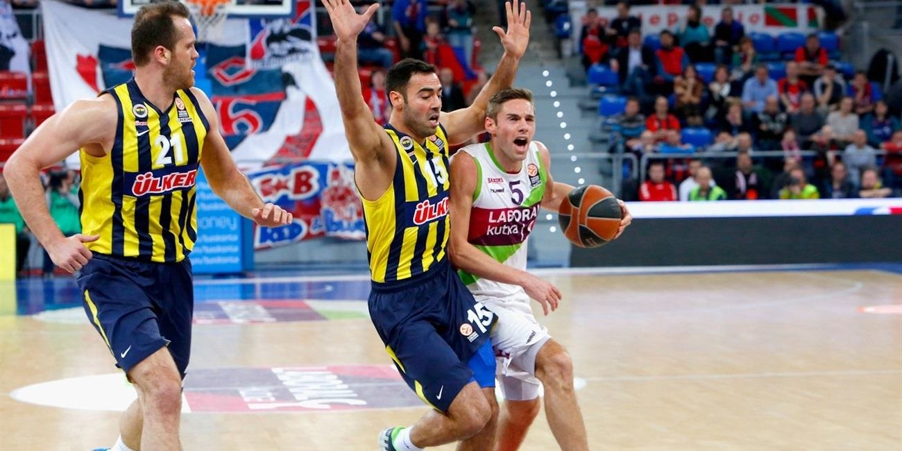 Top 16 Round 13 report: Laboral stops Fenerbahce to remain in playoff hunt