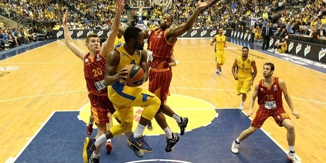 Top 16 Round 13 report: Maccabi holds on to beat Galatasaray